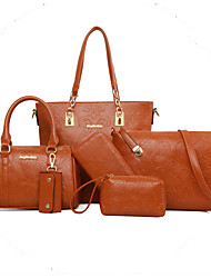Women Cowhide Outdoor / Office & Career Bag Sets