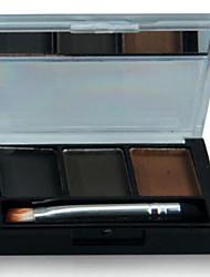 Продукты для бровей порошок Сухие Цветной глянец Глаза 1