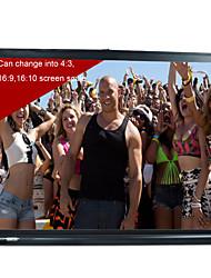 Portable 40inch16:9Matt white HD mini table projection screen Projector top screen for business presentation