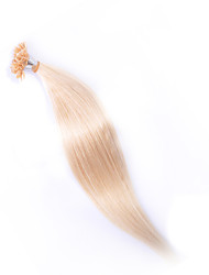 EVET Malaysian Hair Silky Straight 6A Grade U Tip Extensions 100g/lot Malaysian Real Nail Human Hair wholesale