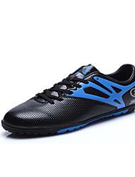 Femme-Sport-Noir / Vert / Orange-Talon Plat-Confort-Chaussures d'Athlétisme-Tulle