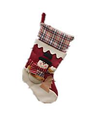 Acessórios de Festa / Decoração Decoração Para Festas Ternos de Papai Noel Tecido Para Meninos / Para Meninas 8 a 13 Anos