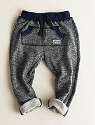 Boy Casual/Daily Solid Pants-Polyester Winter