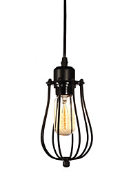 1 Heads Retro Birdcage Pendant Lights Restaurant,Living Room ,Study Room/office Edison Ceiling light Fixture