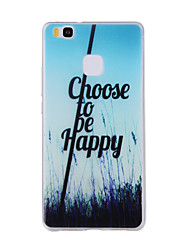 For Huawei Y635 4C 4X 5C 5X P8 P9 P8Lite P9Lite Honor8 Honor7 Honor6 Case Cover Pastoral Scenery Painted Pattern TPU Material Phone Case