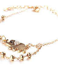 Anklet/Bracelet Shape Feature Material Material Shown Color Women's Jewelry Quantity  2.Anklet/Bracelet Shape Feature Material Material Shown Color