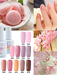 USA ONLY The Best Selling Uv Color Gel UV&LED Lamp Nail Gel Polish Nude Color  Neutral Color Long Lasting Lacquerl