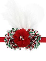 Праздничная бижутерия красный / белый Фланель Косплэй аксессуары Рождество