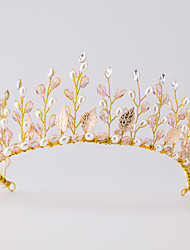 Women's Alloy / Imitation Pearl Headpiece-Wedding / Special Occasion / Casual Tiaras 1 Piece