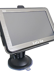 navegador GPS de 5 polegadas