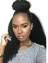 Hotsale Virgin Brazilian Human Hair 13x6 Lace Front Wig 12-26 inch 130 Density Afro Kinky Curly Lace Front Wig
