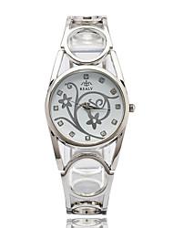 Часы-браслет Кварцевый сплав Группа Серебристый металл Золотистый Розовое золото