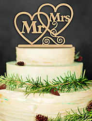 The new 2016 wooden wedding cake Birthday party card inserted with cake decoration