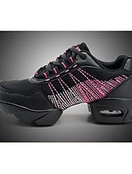 Не персонализируемая Для женщин Танцевальные кроссовки Синтетика Кроссовки Тренировочные Для закрытой площадки Для открытой площадки