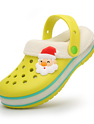 Boy's Slippers & Flip-Flops Spring Fall Winter Comfort Light Up Shoes Rubber Casual Flat Heel Blue Yellow Pink