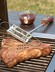 1PC New BBQ Meat Branding Iron with Changeable 55 Letters Grill Steak Meat Barbecue bbq Tongs Tool Sets