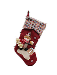 Holiday Props / Holiday Decorations Holiday Supplies Snowman Cloth / Cotton Dark Red For Boys / For Girls 8 to 13 Years