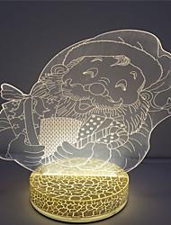 2016 декоративные мило 3D LED USB детей ночник