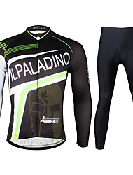 Ilpaladin Sport Men Long Sleeve Cycling Jerseys Suit CT730