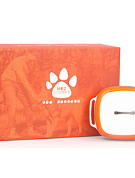Orange Pet Anti-Lost GPS Locator Tracking Collar Tracker