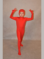 Festival/Holiday Costumes Red Solid Zentai Kid Lycra