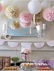 Papel de Perla Material Ecológico Decoraciones de la boda-15piece / Set Primavera Verano Otoño Invierno Personalizado