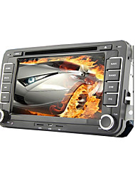 "7 ""2 DIN LCD touch screen carro leitor dvd para volkswagen com CAN-BUS, bluetooth, gps, ipod-entrada, rds, rádio, quadriciclo"