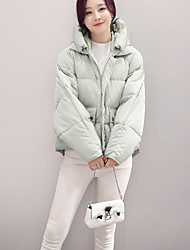 8609 Sign 2016 Korean yards loose cotton jacket Korean female short paragraph padded cotton jacket bread service