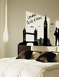 Landscape Wall Stickers Luminous Wall Stickers Decorative Wall Stickers,Vinyl Material Home Decoration Wall Decal