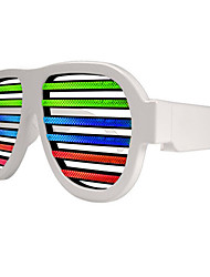 Iluminação de LED ABS Arco-Íris / Branco Decoração Para Festas Toy música