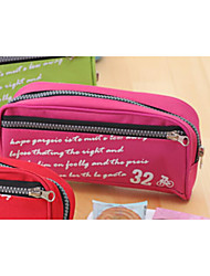 The Large Capacity Big Zipper Contracted Pen Bag