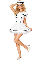 Cosplay Costumes Party Costume Sailor/Navy Career Costumes Movie Cosplay Dress Hat Halloween Carnival Female Polyester