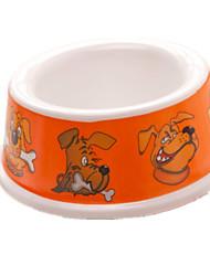 Dog Feeders Pet Bowls & Feeding Portable Random Color Plastic