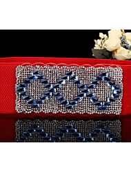 Women Oxford cloth Waist Belt,Casual Alloy / Diamond All Seasons