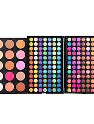 183 Colors Eyeshadow Makeup Eyeshadow Palette Comestic Tender 3 Layer Make Up EyeShadow Full Size Luminous Set Kit