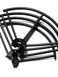 JXD 509 JXD Propeller Guards RC Quadrocopter / Drones / RC Flugzeuge Schwarz Plastik 4PCS