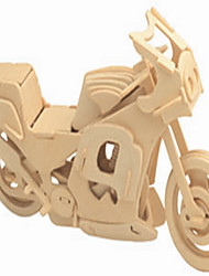 Jigsaw Puzzles Wooden Puzzles Building Blocks DIY Toys Road Car 1 Wood Ivory Model & Building Toy