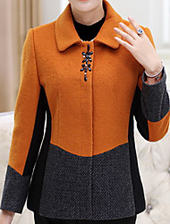 Simple Coat Long Sleeve Regular