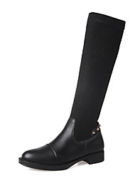 Women's Fall / Winter / Fashion Boots/Round Toe/ Chunky Heel/Party & Evening/ Dress /Casual/Rivet/Split Joint