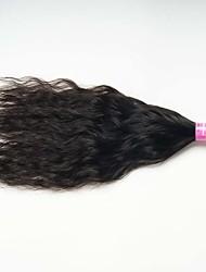 1 Pièce Ondulation Naturelle Tissages de cheveux humains Cheveux Malaisiens 0.1kg 8-30 inch Extensions de cheveux humains