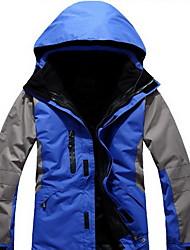 Homens Blusas Corrida Impermeável Térmico/Quente A Prova de Vento Confortável Grossa Primavera Outono InvernoAmarelo Verde Vermelho Preto
