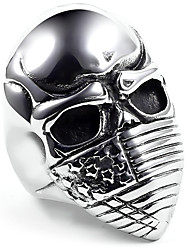 Band Rings Ring Jewelry Alloy Skull / Skeleton Flag USA Silver Jewelry Casual 1pc