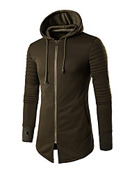 Men's Casual/Daily Sports Active Street chic Hoodie Print Micro-elastic Cotton Long Sleeve Fall Winter