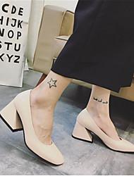 Damen-High Heels-Lässig-LacklederOthers-Schwarz / Grau