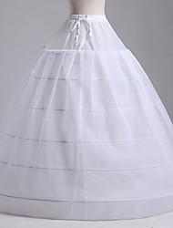 Anáguas(Náilon Chinês,Branco) -Slip de Baile-103CM-1