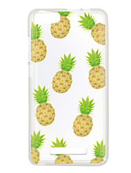For Wiko Lenny 3 Case Cover Pineapple Pattern Back Cover Soft TPU Lenny 3 Sunset 2
