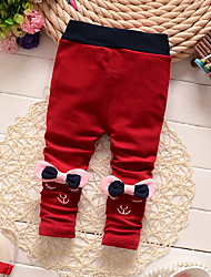 Girl Casual/Daily / Sports Print Pants-Cotton Winter / Fall