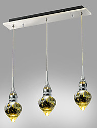 4W Flush Mount ,  Modern/Contemporary Chrome Feature for Crystal / LED Metal Living Room / Bedroom / Dining Room / Study Room/Office