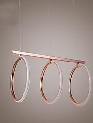Lampe suspendue ,  Traditionnel/Classique Plaqué Fonctionnalité for LED MétalSalle de séjour Chambre à coucher Salle à manger