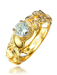 India Style Gold Plating Wedding Ring for Women